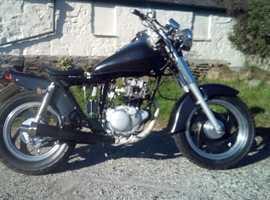 Yamaha SR 125 chobber