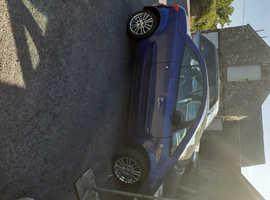Mitsubishi Colt, 2009 (09) Blue Convertible, Manual Petrol, 101,000 miles