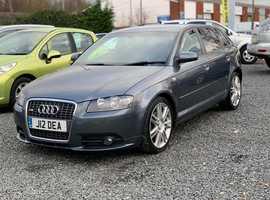 Audi A3, 2006 (06) Grey Hatchback, Automatic Diesel, 114,000 miles