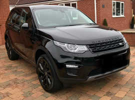 Land Rover DISCOVERY SPORT, 2018 (68) black estate, Automatic Diesel, 8,700 miles
