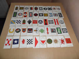 Cigarette Cards. Army Corp Divisional Signs 1914-18