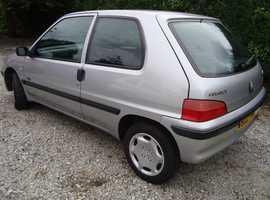 Peugeot 106, 2000 (W) Silver Hatchback, Manual Petrol, 108,915 miles Bedford MK41 area