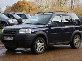 Land Rover Freelander, 2003 (03) Blue Estate, Automatic Diesel, 153,700 miles