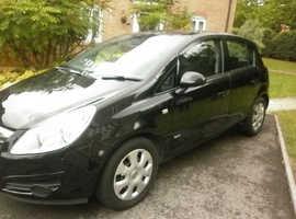 Vauxhall Corsa, 2009 (09) Black Hatchback, Manual Petrol, 99,800 miles