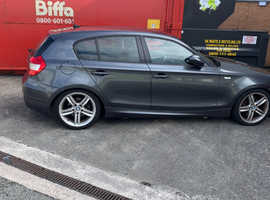 BMW 1 series, 2006 (06) Grey Hatchback, Automatic Petrol, 153,000 miles