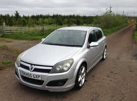 Vauxhall Astra, 2006 1.9 cdti sri x-pack  Silver Hatchback, Manual Diesel, 114,000 miles
