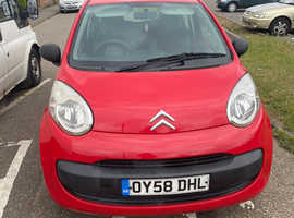 Citroen C1, 2008 (58) Red Hatchback, Manual Petrol, 51,000 miles