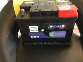12 volt 60 amp hour brand new car battery