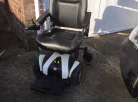 Electric powered wheelchair Traveled, good condition