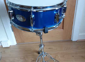 Snare drum and stand
