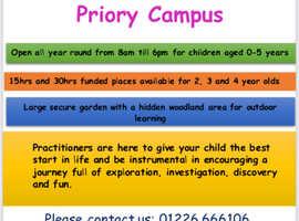 Welcome Nurseries @ Priory Campus