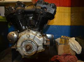 1946FL harley davidson knucklehaed engine