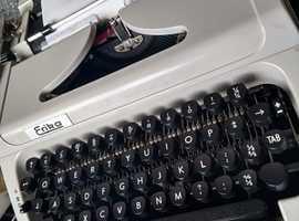 Erika 155 portable typewriter