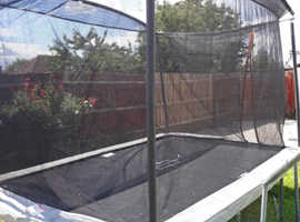 12ft rectangle trampoline