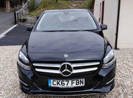 Mercedes B-CLASS, 2017 (67) Black MPV, Automatic Diesel, 18,000 miles sport executive