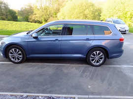 Volkswagen Passat, 2015 (15) Blue Estate, Semi auto Diesel, 33,000 miles