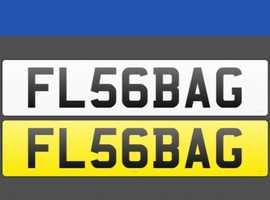 personalised private car number plate