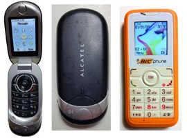 Alcatel OT S319 S320 & Alactel OT S211 mobile phone Unlocked Sim Free