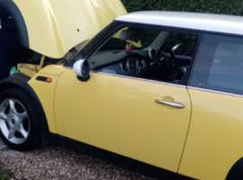 Mini MINI, 2003 (53) Yellow Hatchback, Manual Diesel, 9,834 miles