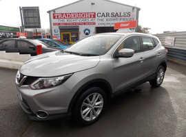 Nissan Qashqai, 2014 (14) Silver Hatchback, Manual Diesel, 70,078 miles