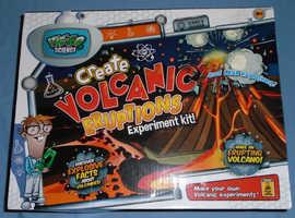 Weird Science 'Create Volcanic Eruptions' Kit (new)