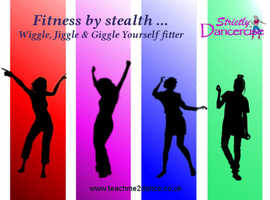 Strictly Dancercise - Wiggle, Jiggle & Giggle Yourself Fitter!
