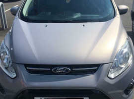 Ford C-Max, 2011 (61) Silver Hatchback, Automatic Diesel, 77,000 miles