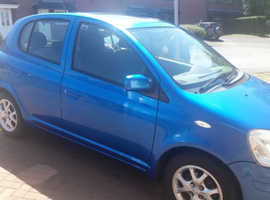 Toyota Yaris, 2003 (03) Blue Hatchback, Manual Petrol, 54,000 miles