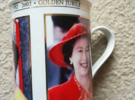 Queen Elizabeth Golden Jubilee 2002 Mug