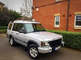 "2002 02 REG Land Rover Discovery 2 2.5 TD5 GS Auto 5dr (5 Seats) "" HPI CLEAR """