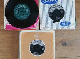 "95 7"" records 1950s 60s"