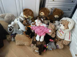 Collections of excellent condition of soft toys