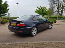 BMW 3 Series, 2003 (03) Blue Coupe, Manual Petrol, 146,000 miles