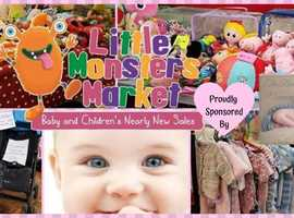 LITTLE MONSTERS CLEVEDON MARKET - Baby and Children's Nearly New Sale
