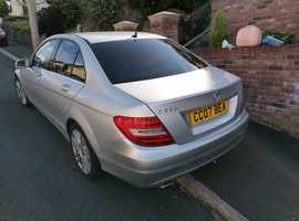 Mercedes C CLASS, 2011 (11) Silver Saloon, Automatic Diesel, 40,500 miles