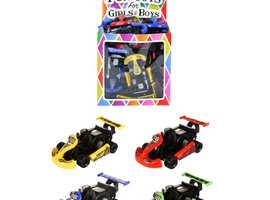 Mini Pull Back Racing Karts Toy