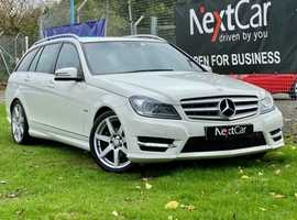 Mercedes Benz C Class 2.1 C220 CDI BlueEFFICIENCY Sport Estate G-Tronic (175 bhp) Stunning Automatic Sport Estate, with Fabulous Service History