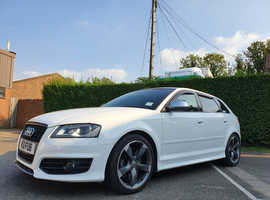 Audi S3 black edition quattro, 2010 (10) White Hatchback, Automatic Petrol,