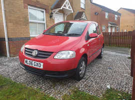 Volkswagen Fox, 2006 (06) Red Hatchback, Manual Petrol, 108,505 miles