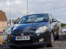 Fiat Bravo 1.4 T-jet, 2010 (10) Black Hatchback, Manual Petrol, 84,000 miles