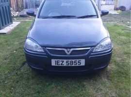 Vauxhall Corsa, 2006 (06), Manual Petrol, 76,000 miles