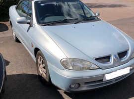 Renault MEGANE DYNAMIQUE CABRIO, 2003 (03) silver convertible, Manual Petrol, 85068 miles