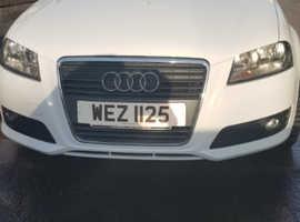 Audi A3, 2009 (58) White Hatchback, Manual Diesel, 140,000 miles