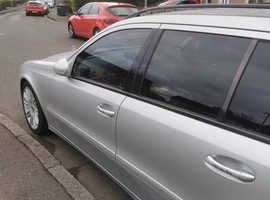 Mercedes E Class, 2007 (57) silver estate, Automatic Diesel, 148,862 miles