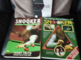 Snooker books.