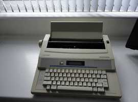 A typewriter for a budding author (maybe!)