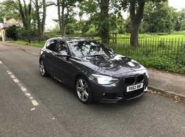BMW 1 series, 2012 (62) Grey Hatchback, Manual Diesel, 14,300 miles