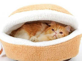 HAMBURGER SHAPE PET BED