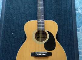 Vintage Lorenzo acoustic guitar Fletch, Coppock & Newman