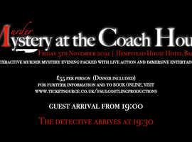 Murder Mystery at Hempstead House Hotel Sittingbourne